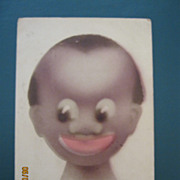 "Black American Postcard "" Burbrook' Coon Series"