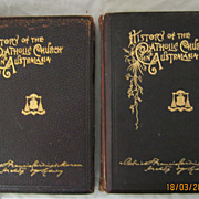 History of The Catholic Church in Australasia in 2 volumes - Cardinal Moran 1895