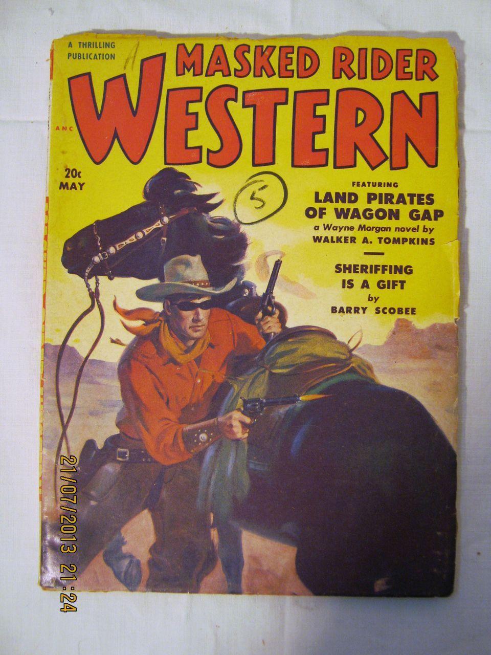 Masked Rider Western - May 1951