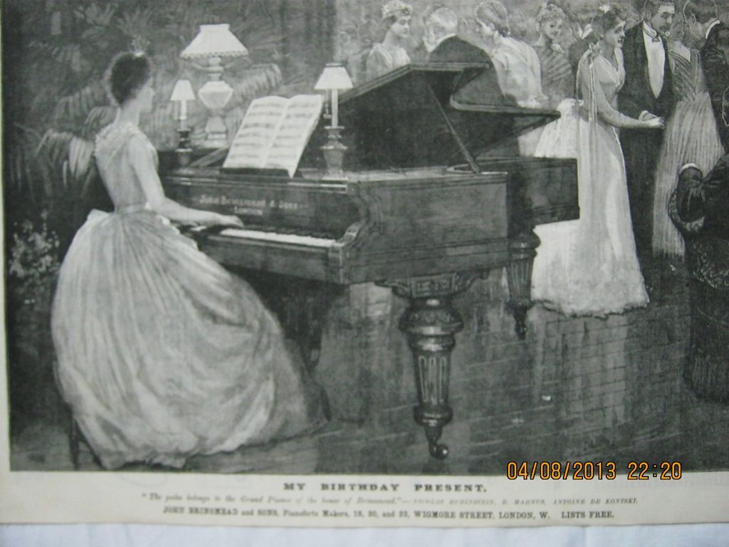 My Birthday Present - Illustrated London News 1883