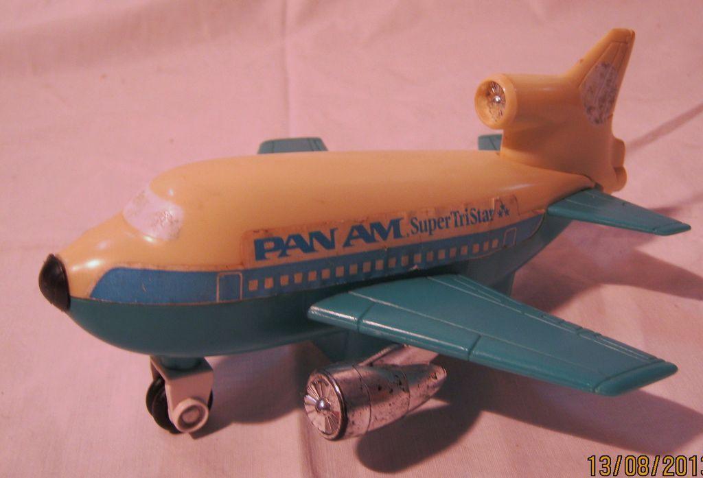 PAN AM Advertising Promotional 'Super Tri Star' Toy Plane