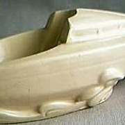 Art Deco Boat Ashtray & Pipe Rest