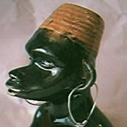 African Native Lady Ashtray