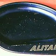 ALITALIA Airlines Advertising Ashtray