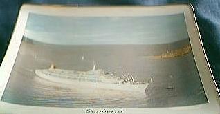 Canberra Cruise-liner Ashtray