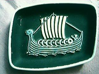 Viking Ship Ashtray