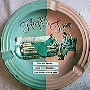 Hide a Bed Sofa Advertising Ashtray