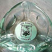 Les Saintes Caraibe Advertising Ashtray