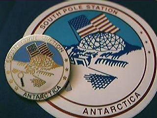 South Pole Station Antarctica Badge