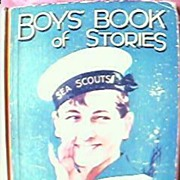 BOY'S Book of Stories Circa 1930's