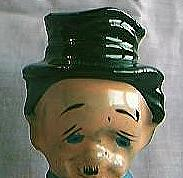 Old Man In Top Hat Bottle Stopper