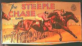 """Vintage """" The Steeple Chase Game"""" Circa 1940's-50's"""