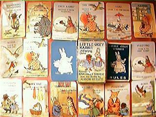"Vintage Child's Playing Cards ""Little Grey Rabbit"" Circa 1950's"