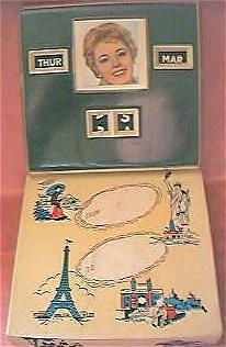 "1950's Desk Calendar ""Rosemary Clooney"" Maybe"