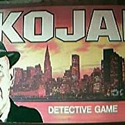 Vintage KOJAK Board Game 1975