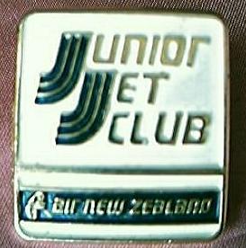 Vintage Air New Zealand Junior Jet Club Advertising Badge