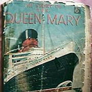 """Rare """"The Story of R.M.S Queen Mary""""  Booklet 1935-36"""