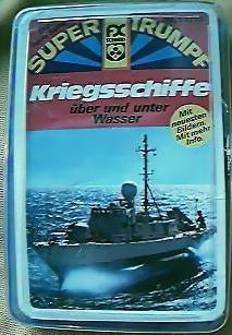 1980's  Super Triumpf Set Of Warships Cards
