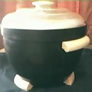 Vintage Art Deco  Bakelite Ice Bucket Circa 1940's