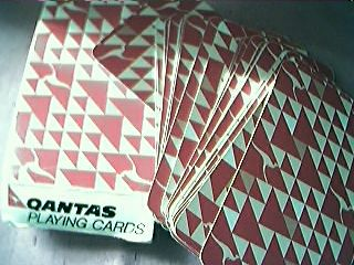 Qantas Airlines Playing Cards