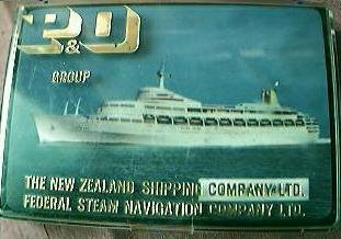 Set of 6  P& O   NZ Shipping Lines Coasters
