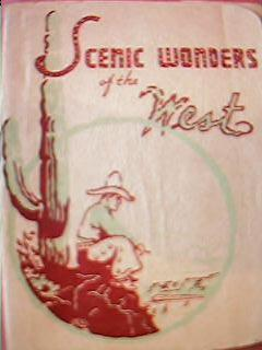 """Southern Pacific Railways """"Scenic Wonders of The West"""" 1940's"""