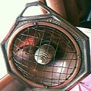 The HECLA FIRE Victorian / Edwardian Era Electric Heater