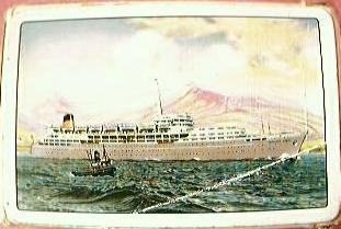S.S. Southern Cross Shipping Line Playing Cards