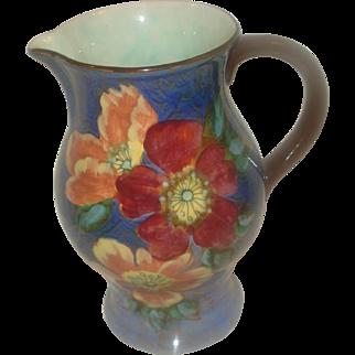 Royal Doulton Porcelain Pitcher Wild Rose