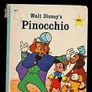 "Walt Disney's ""Pinocchio"" 1967 Big Little Book"