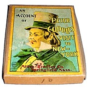 "1920s ""Peter Coddle's Visit to New York"" Milton Bradley Card Game"