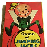 "1937 ""Jumping Jacks"" Milton Bradley Game"