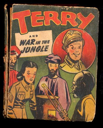 "1944 ""Terry & War in the Jungle"" Big Little Book"