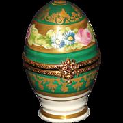 Limoges France Peint Mein Egg Box