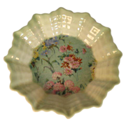 Shelley Melody Chintz Fluted Nut Dish