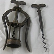 Heeley Double Lever Corkscrew with spare screw