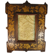 Pyrographic Frame