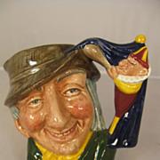 Royal Doulton Small Toby Jug - Punch and Judy Man - D6593