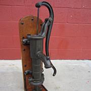 Antique Brass Water Pump Antique Pump Display Architectural Element