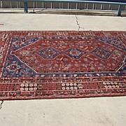 Antique Hand Made Persian Oriental Rug Carpet