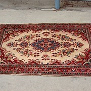 Antique Hand Made Oriental Carpet Rug Persian Rug Afghan Carpet