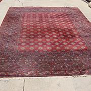 Beautiful Antique Wool Persian Rug Oriental Carpet