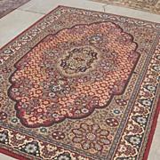Antique Wool Persian Rug Oriental Carpet