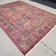 Antique Hand Made Kirman Persian Carpet Oriental Rug Antique Rugs