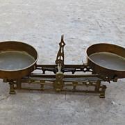 American Antique Brass Balance Scale