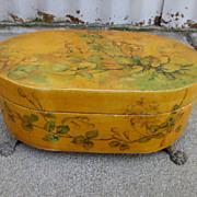 Hand Painted Dresser Box Dresser Casket