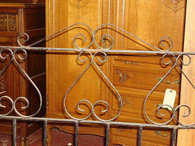 English Antique Iron Garden Gate