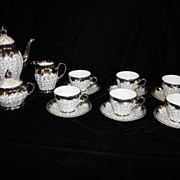 Beautiful 15 Piece German Chocolate Set Coffee Set Tea Set
