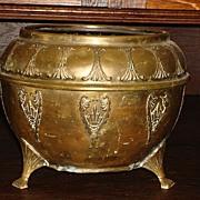 French Antique Copper Planter Flower Pot