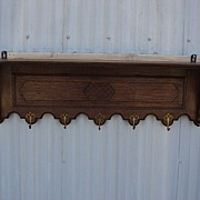 French Antique Hat Rack Antique Coat Rack Antique Wall Rack